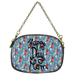 Happy Mothers Day Celebration Chain Purses (two Sides)