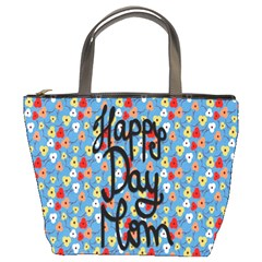 Happy Mothers Day Celebration Bucket Bags