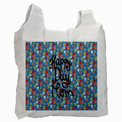 Happy Mothers Day Celebration Recycle Bag (Two Side)