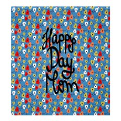 Happy Mothers Day Celebration Shower Curtain 66  x 72  (Large)