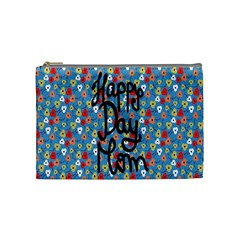 Happy Mothers Day Celebration Cosmetic Bag (Medium)