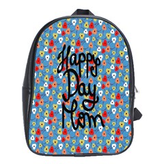 Happy Mothers Day Celebration School Bags(Large)