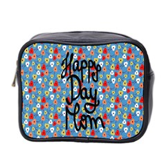 Happy Mothers Day Celebration Mini Toiletries Bag 2-Side