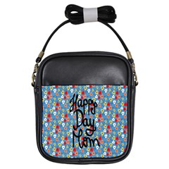 Happy Mothers Day Celebration Girls Sling Bags