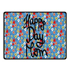 Happy Mothers Day Celebration Fleece Blanket (Small)