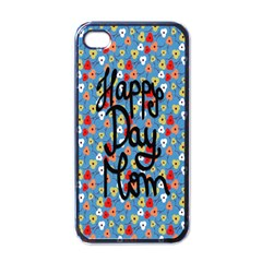 Happy Mothers Day Celebration Apple iPhone 4 Case (Black)