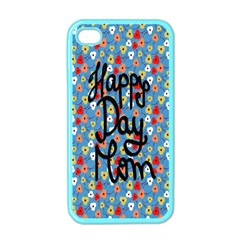 Happy Mothers Day Celebration Apple iPhone 4 Case (Color)