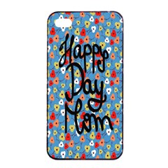 Happy Mothers Day Celebration Apple iPhone 4/4s Seamless Case (Black)