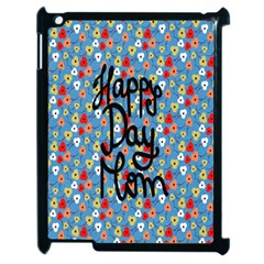 Happy Mothers Day Celebration Apple iPad 2 Case (Black)