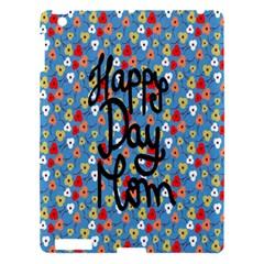 Happy Mothers Day Celebration Apple iPad 3/4 Hardshell Case