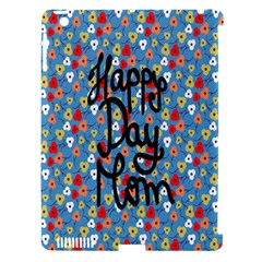 Happy Mothers Day Celebration Apple iPad 3/4 Hardshell Case (Compatible with Smart Cover)