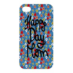 Happy Mothers Day Celebration Apple Iphone 4/4s Premium Hardshell Case