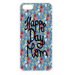 Happy Mothers Day Celebration Apple Iphone 5 Seamless Case (white)