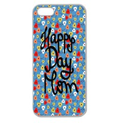 Happy Mothers Day Celebration Apple Seamless Iphone 5 Case (clear)