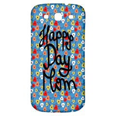 Happy Mothers Day Celebration Samsung Galaxy S3 S III Classic Hardshell Back Case