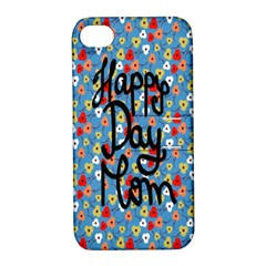 Happy Mothers Day Celebration Apple iPhone 4/4S Hardshell Case with Stand