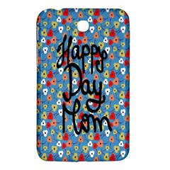 Happy Mothers Day Celebration Samsung Galaxy Tab 3 (7 ) P3200 Hardshell Case