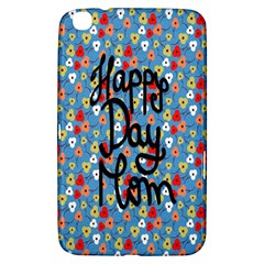 Happy Mothers Day Celebration Samsung Galaxy Tab 3 (8 ) T3100 Hardshell Case
