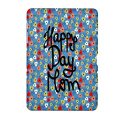Happy Mothers Day Celebration Samsung Galaxy Tab 2 (10.1 ) P5100 Hardshell Case