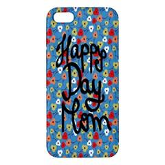 Happy Mothers Day Celebration iPhone 5S/ SE Premium Hardshell Case