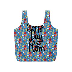 Happy Mothers Day Celebration Full Print Recycle Bags (S)