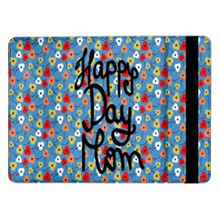 Happy Mothers Day Celebration Samsung Galaxy Tab Pro 12 2  Flip Case