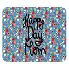 Happy Mothers Day Celebration Double Sided Flano Blanket (Small)