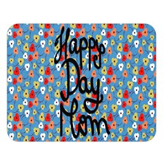 Happy Mothers Day Celebration Double Sided Flano Blanket (large)