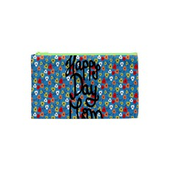 Happy Mothers Day Celebration Cosmetic Bag (XS)