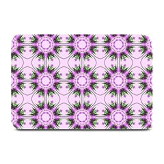 Pretty Pink Floral Purple Seamless Wallpaper Background Plate Mats