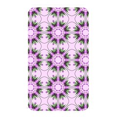 Pretty Pink Floral Purple Seamless Wallpaper Background Memory Card Reader