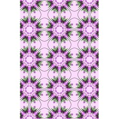 Pretty Pink Floral Purple Seamless Wallpaper Background 5 5  X 8 5  Notebooks
