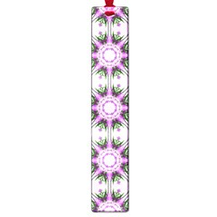 Pretty Pink Floral Purple Seamless Wallpaper Background Large Book Marks