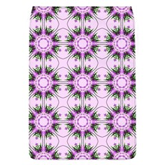 Pretty Pink Floral Purple Seamless Wallpaper Background Flap Covers (l)