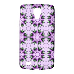 Pretty Pink Floral Purple Seamless Wallpaper Background Galaxy S4 Active