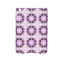 Pretty Pink Floral Purple Seamless Wallpaper Background iPad Mini 2 Hardshell Cases