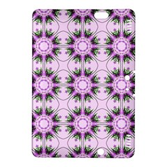 Pretty Pink Floral Purple Seamless Wallpaper Background Kindle Fire Hdx 8 9  Hardshell Case