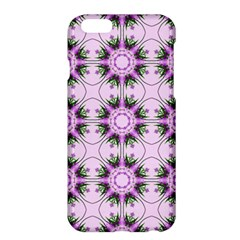Pretty Pink Floral Purple Seamless Wallpaper Background Apple iPhone 6 Plus/6S Plus Hardshell Case