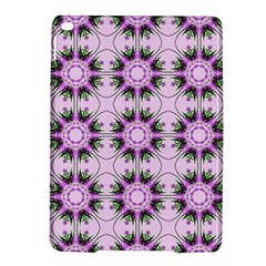 Pretty Pink Floral Purple Seamless Wallpaper Background iPad Air 2 Hardshell Cases