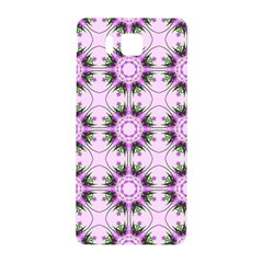 Pretty Pink Floral Purple Seamless Wallpaper Background Samsung Galaxy Alpha Hardshell Back Case