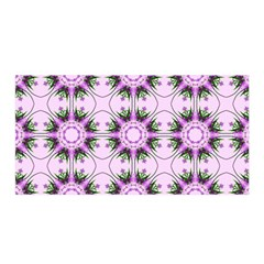 Pretty Pink Floral Purple Seamless Wallpaper Background Satin Wrap