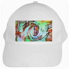 Art Pattern White Cap