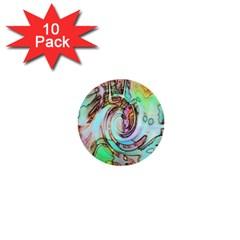 Art Pattern 1  Mini Buttons (10 pack)