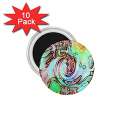 Art Pattern 1.75  Magnets (10 pack)