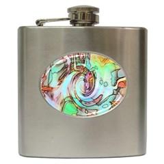 Art Pattern Hip Flask (6 oz)