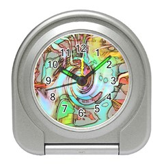 Art Pattern Travel Alarm Clocks
