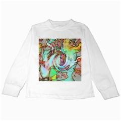 Art Pattern Kids Long Sleeve T-Shirts