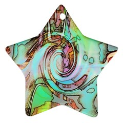 Art Pattern Star Ornament (Two Sides)