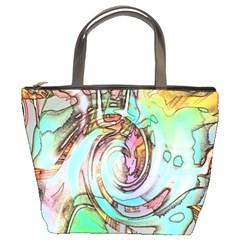 Art Pattern Bucket Bags