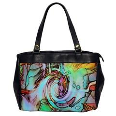 Art Pattern Office Handbags